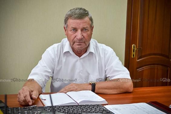 Vasile GRĂDINARU, preşedintele raionului Drochia
