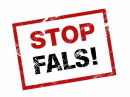 STOP FALS logo