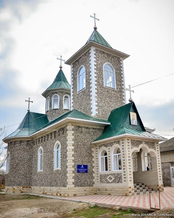 Biserica cu pictură bizantină. © Maria JOSANU