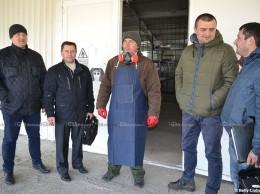 (De la stânga la dreapta) Denis GLADCHII, Vitalie FRUMOSU, Ruslan ȚURCANU, Igor CONEA, Eugen GRIGORAȘ