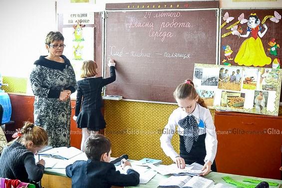 2 класс, урок украинского языка, учитель Стрымба Светлана