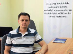 Ion Cibotărică, director de programe la Centrul de asistenţă juridică pentru persoanele cu dizabilităţi