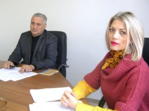 Игорь ГРОЗАВУ и Галина СКИЦКО: идет заседание комиссии