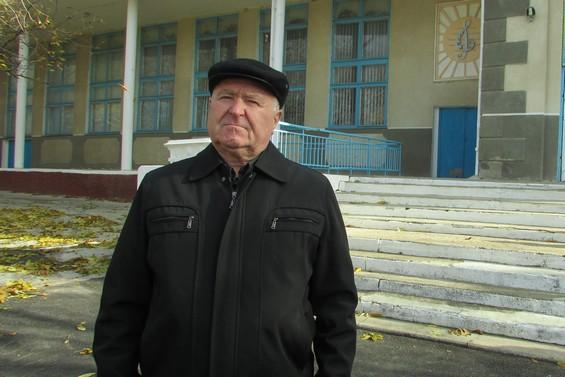 Nicolae Dâru spune că regimul separatist de la Tiraspol le-a închis grădinița din localitate. Foto: Lilia Zaharia