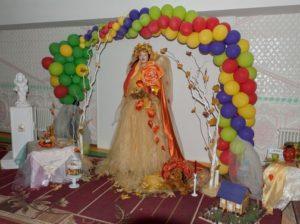 Zâna Toamnă, frumoasă și multicoloră, a bucurat privirile tuturor participanților la sărbătoare // Foto: Veaceslav VĂZDĂUȚAN