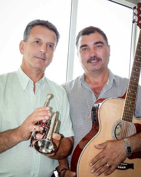 Prieteni de-o viaţă - Alexandru FOCŞA şi Victor CEMORTAN