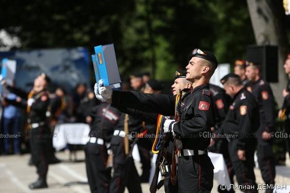 Момент принятия присяги запомнится навсегда / Фото: Лилиан ДЕМИАН