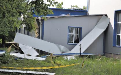 Școala sportivă Drochia nu mai are acoperiș