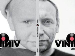 "Coperta cărții ""Vinil"", autor Igor GUZUN"