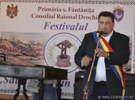 Veaceslav BABUCI, primar, s. Fântânița, raionul Drochia
