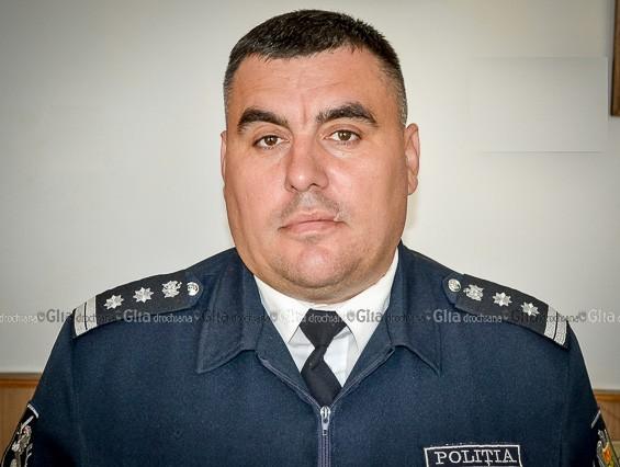 Marcel CIMBRICIUC, specialist al Serviciului supraveghere tehnică şi accidente rutiere al IP Drochia