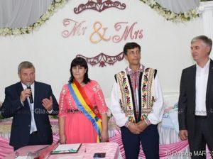 (De la stânga) Vasile Grădinaru, Ludmila Stiopa, Petru Turculeț și Corneliu Padnevici