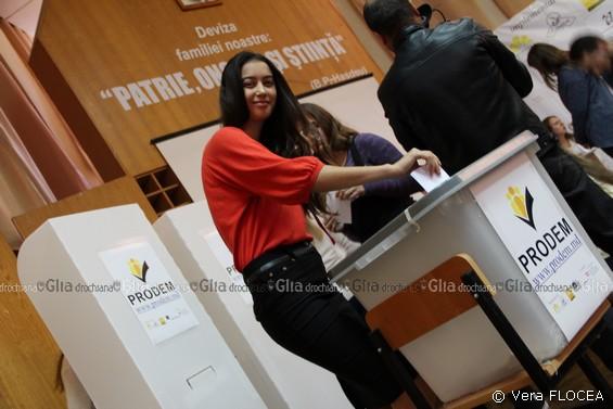 la urna de vot