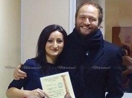 """Iana BOSOVICI, laureată a Festivalului-Concurs Internaţional de muzică uşoară """"Două inimi gemene"""" cu Cristofor Aldea Teodorovici"""