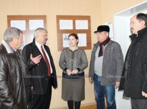 """În vizită la gimnaziul """"Dumitru Roman"""", din s. Drochia"""