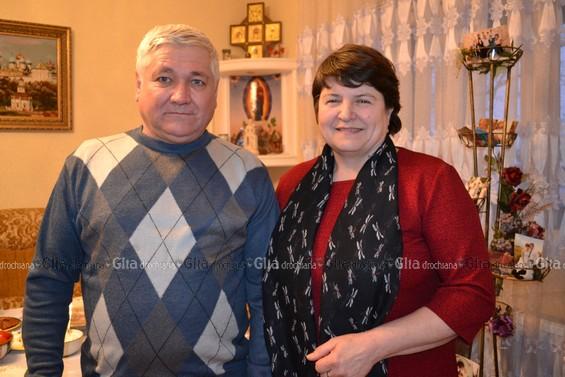 Mihail și Tamara ZAZULEA, chetroșenii care muncesc la Eparhia din Yakutia