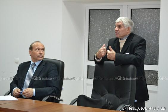 Vasile PATRAȘCU și Dumitru ENI