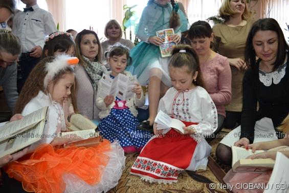 Și copiii, și părinții îl citesc pe Iulian FILIP