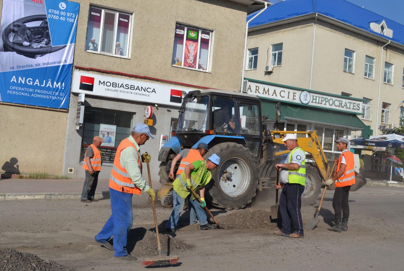 Muncitorii de la Magistrala Nord în procesul activității