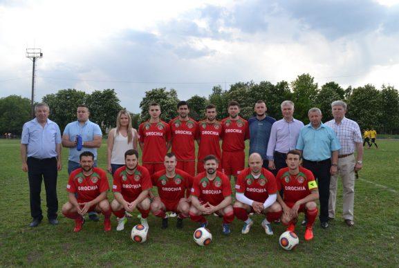 """FC """"Speranţa"""" Drochia 2018 împreună cu sponsorii oficiali, conducerea raionului şi, desigur, suporterii, nutresc un singur şi comun scop: LOCUL ÎNTÂI"""