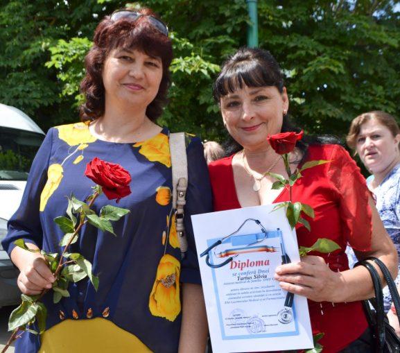 Eugenia BURDUJA și Silvia TARTUS, OMF, Cotova