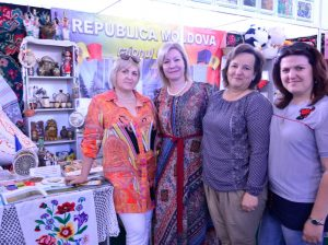 C представителями молдавской диаспоры в Курске