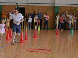 Igor DOBREANSCHI cu fiica Alexandra participă la competiție sportivă