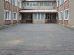 Așa arată exteriorul instituției de educație timpurie nr. 5 din oraș