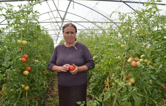 Maria Darii este o fermieră dintre cele mai moderne