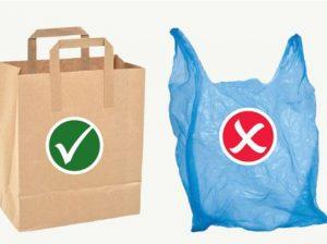 Полиэтилену - нет, бумаге и ткани - да!