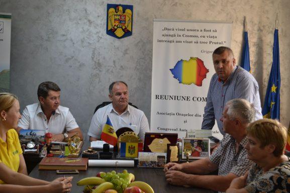 Petru Relu TÂRZIORU are ce relata și arăta oaspeților: în comuna sa proiectele vin unul după altul
