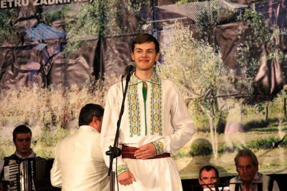 Damian SPINEI, în cadrul unui concert