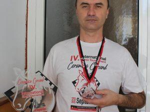 Сергей БЕЖАН с трофеями из Румынии