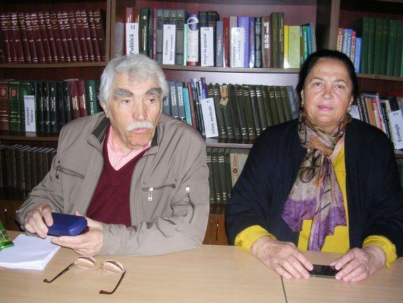 Борис МАРИАН и инициатор встречи Евгения Жалбэ