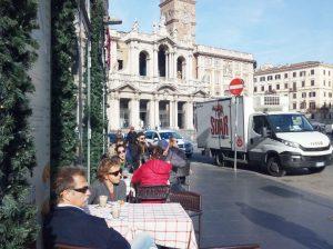Утренний кофе у Санта Мария Маджоре