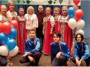 Снимок на память с Маргаритой Ивануш (в центре)