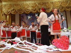 Orchestra de muzică populară, conducător artistic Larisa CIOBANU-SĂRBUŞCĂ