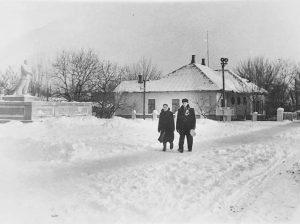Январский день в Дрокии конца 50-х - начала 60-х годов прошлого века