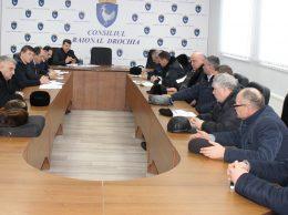 Şedinţa extraordinară a membrilor Comisiei pentru Situaţii excepţionale Drochia