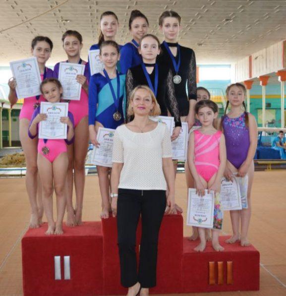 Дрокиевская команда по спортивной акробатике