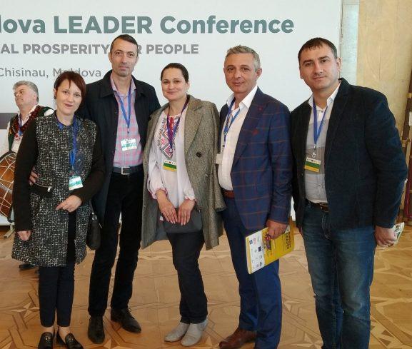 La Conferința Internațională LEADER UE-Moldova