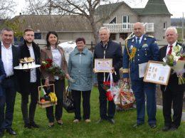 Rudele și oaspeții veniți să-l omagieze pe Gheorghe SĂU din Țarigrad