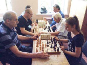 За призовые места борются разные поколения
