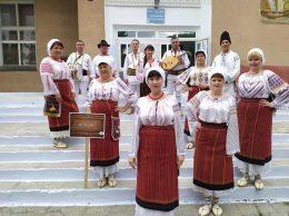 "Ansamblul folcloric ""Busuioc"", în prim plan - Galina PAVALENCU"