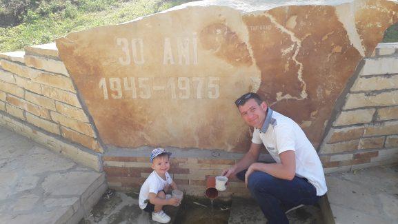 Matei şi Alexandru Bărbieru, bucuroşi de reuşita evenimentului