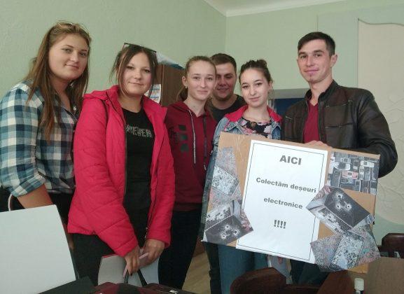 Andrian PRIGOREANU cu echipa sa de voluntari