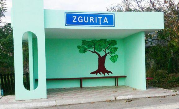Так теперь выглядит остановка автобусов в центре Згурицы