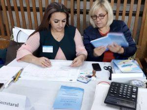 Funcționarele Maria CEBAN și Ina MUNTEANU, BE nr 14/4. cu precauție aplică legislația electorală, ca scrutinul să decurgă veridic