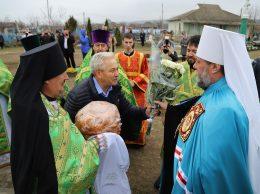 Clipe emoţionante la întâlnirea cu Mitropolitul Vladimir