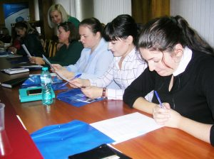 La seminar au participat reprezentanţii tuturor sindicatelor de ramură din raionul Drochia